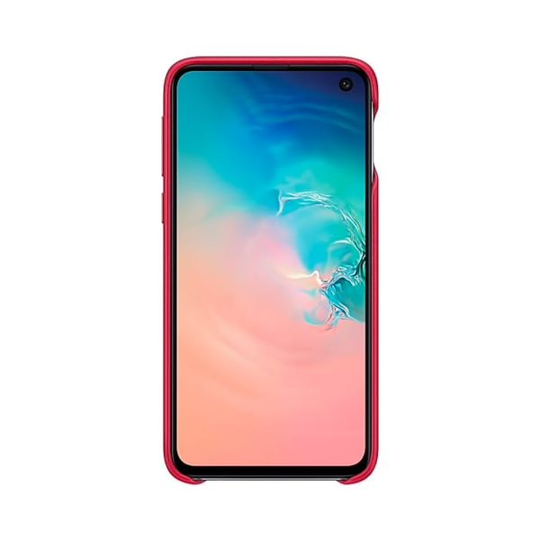 Samsung Galaxy S10e Leather Cover Red EF-VG970LREGWW