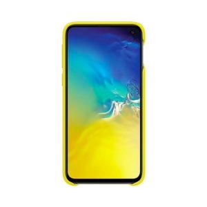 Samsung Galaxy S10e Leather Cover Yellow EF-VG970LYEGWW