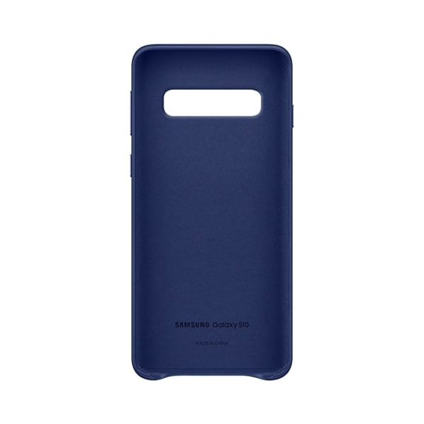 Samsung Galaxy S10 Leather Cover Blue Arctic custodia