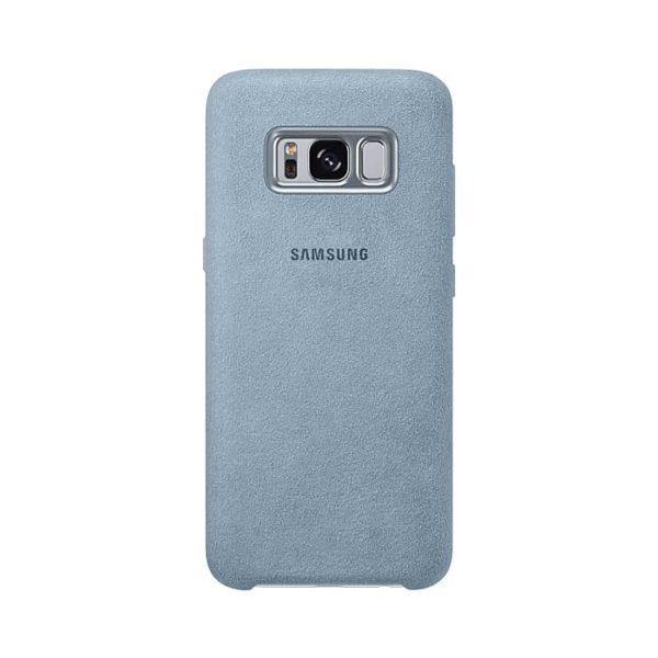 Samsung Galaxy S8 Alcantara Cover Mint