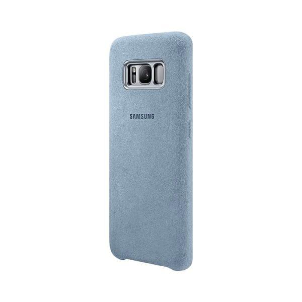 Samsung Galaxy S8 Alcantara Cover Mint retro