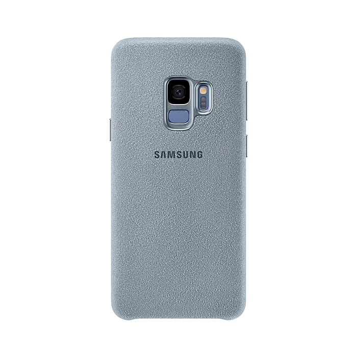 Samsung Galaxy S9 Alcantara Cover Mint