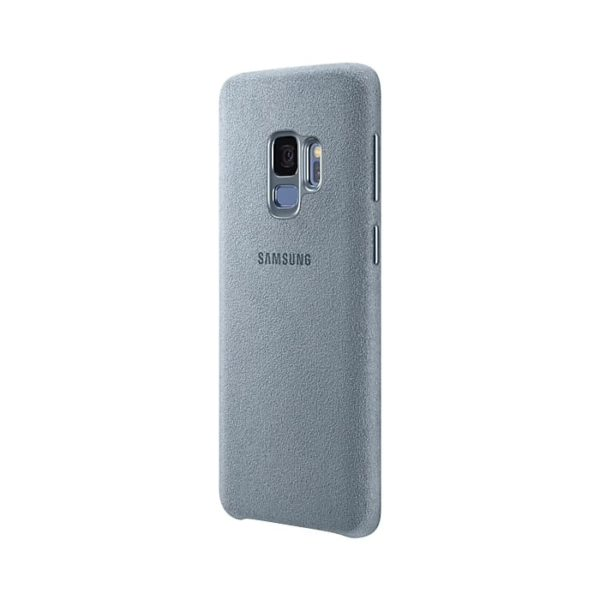 Samsung Galaxy S9 Alcantara Cover Mint retro