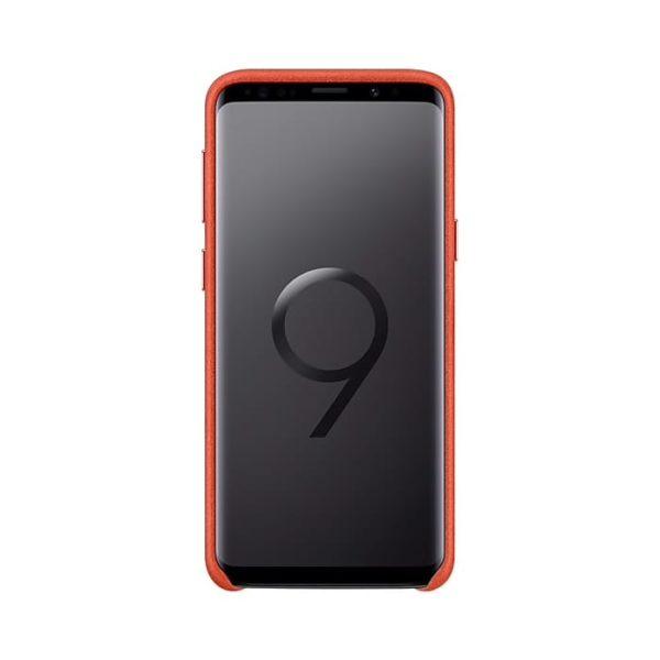 Samsung Galaxy S9 Alcantara Cover Red EF-XG960AREGWW