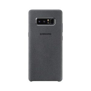 Samsung Galaxy Note8 Alcantara Cover Gray