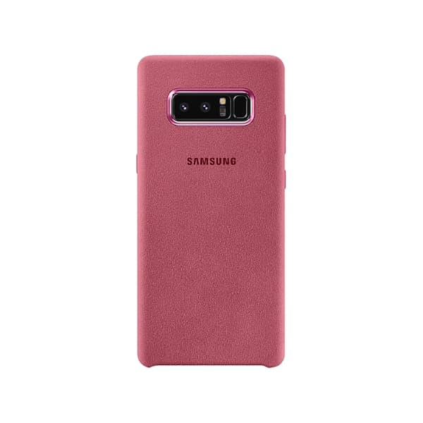 Samsung Galaxy Note 8 Alcantara Cover Pink