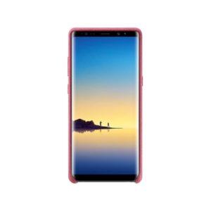 Samsung Galaxy Note 8 Alcantara Cover Pink fronte