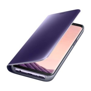 Galaxy S8 Clear View Standing Cover Violet