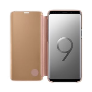 Samsung Galaxy S9 Clear View Standing Cover Gold EF-ZG960CFEGWW