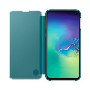 Samsung Galaxy S10e Clear View Cover Green custodia