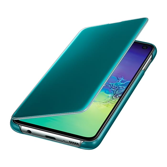 Samsung Galaxy S10e Clear View Cover Green EF-ZG970CGEGWW