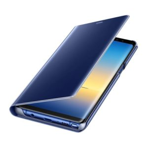 Samsung Galaxy Note8 Clear View Standing Cover Blue custodia