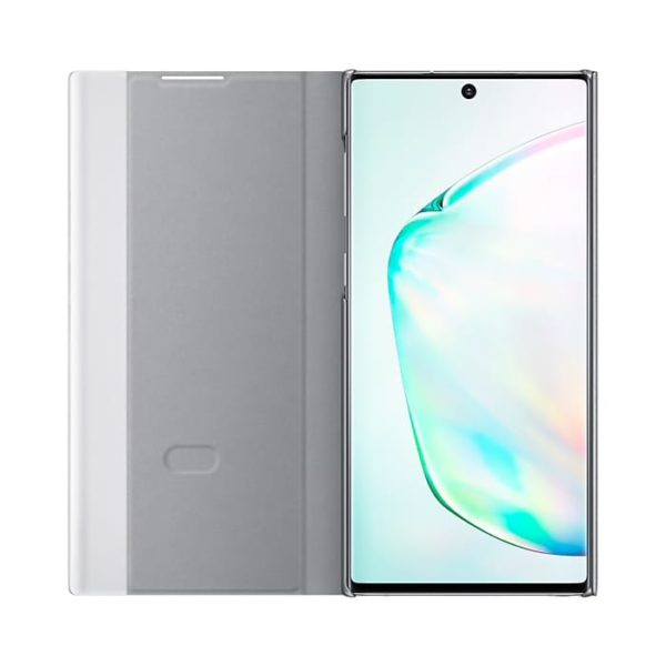 Samsung Galaxy Note10 Clear View Cover Silver