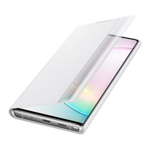 Samsung Galaxy Note10 Clear View Cover White