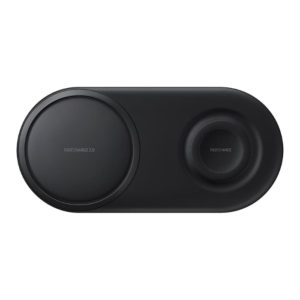 Samsung Wireless Charger Duo Pad nero fronte