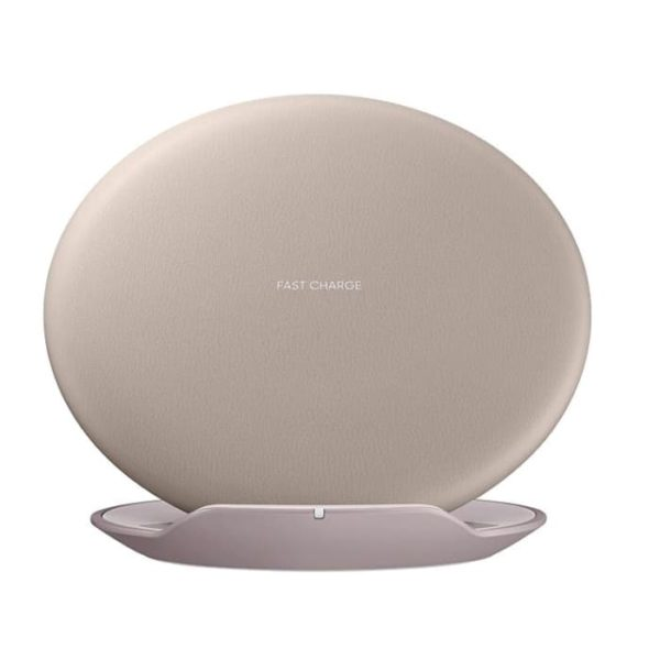 Samsung Wireless Charger Convertible Marrone Fronte