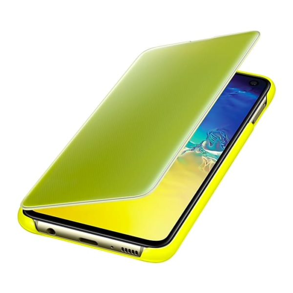 Samsung Galaxy S10e Clear View Cover Yellow