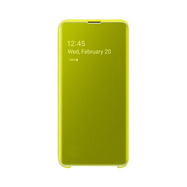 Samsung Galaxy S10e Clear View Cover Yellow ZG970CYEGWW