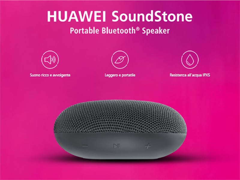 altoparlante bluetooth portatile soundstone huawei