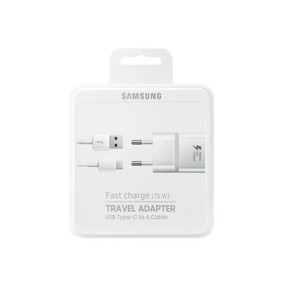 Caricabatterie Samsung MicroUSB Fast Charge bianco