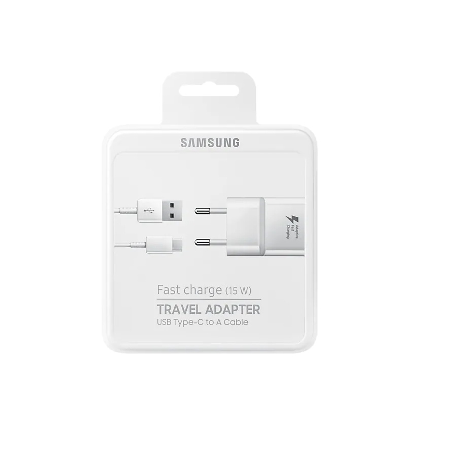 Samsung EP TA20EWEUGWW Carica batterie di Tipo Fast Charger