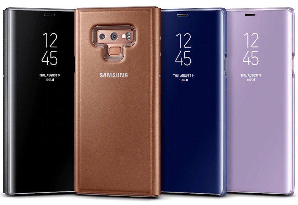 cover clear samsung galaxy note 9 protezione