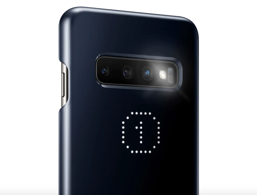 cover led samsung galaxy s10 timer