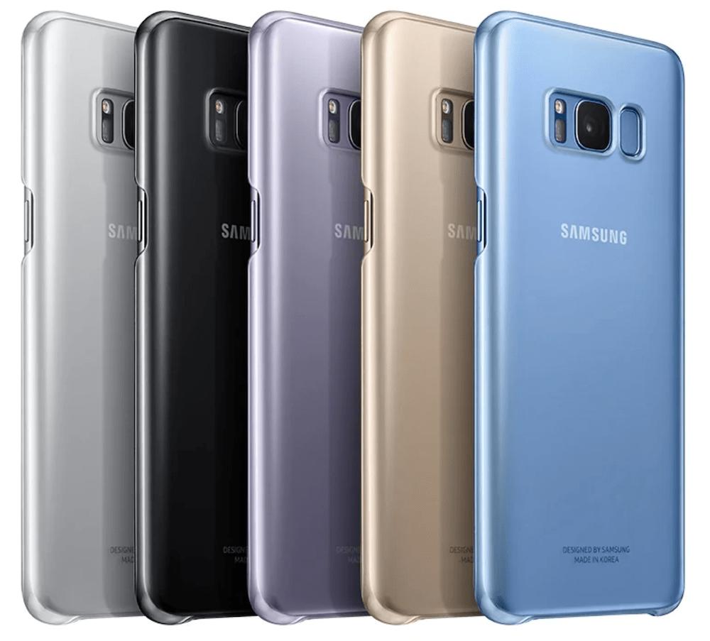 cover samsung galaxy s8 trasparente