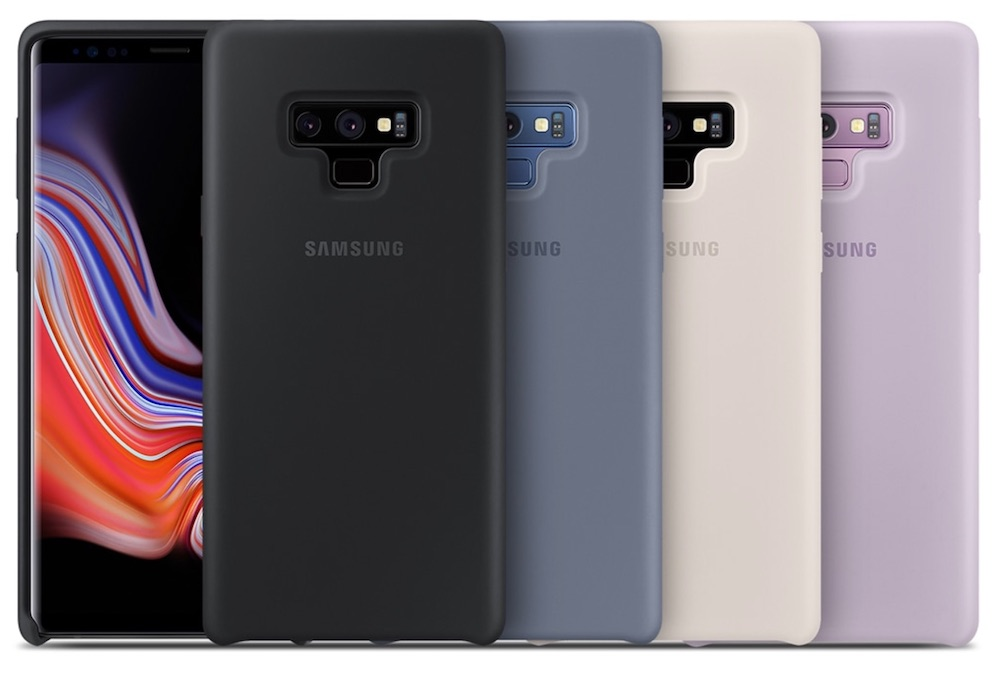 cover silicone samsung galaxy note 9 colorazioni