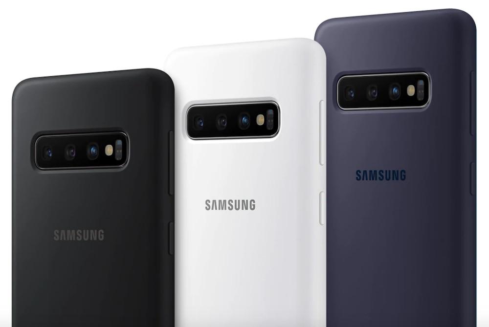 cover silicone samsung galaxy s10