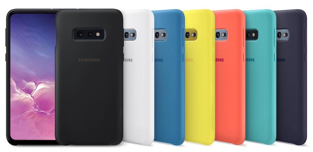 cover silicone samsung galaxy s10e colori