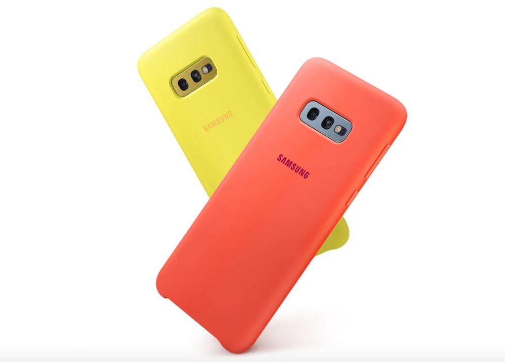 cover silicone samsung galaxy s10e design
