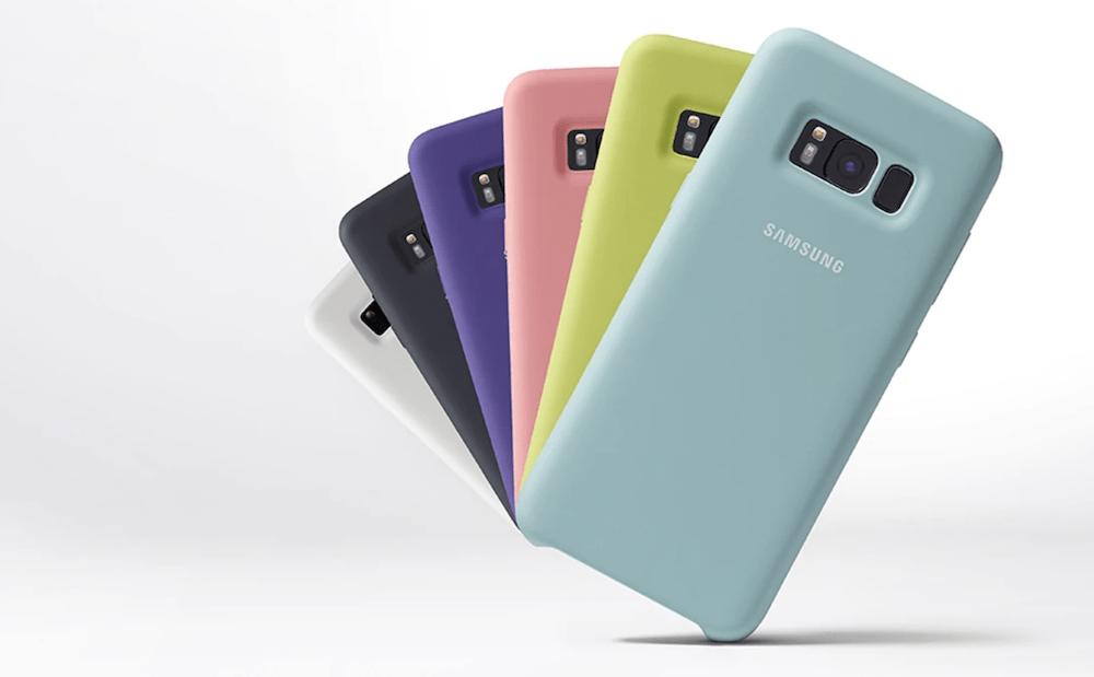 cover silicone samsung galaxy s8 colori