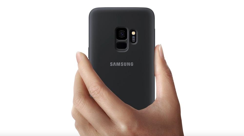 cover silicone samsung galaxy s9