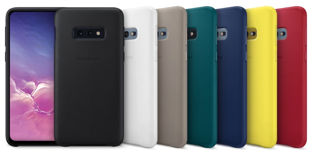 leather cover samsung galaxy s10e colori