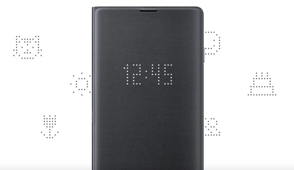 led cover samsung galaxy s10