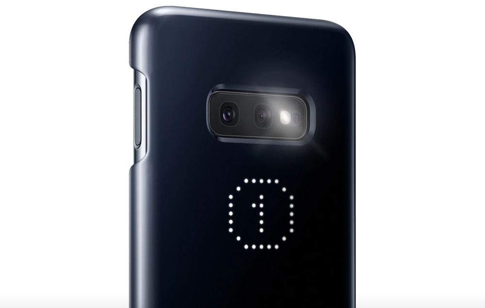 led cover samsung galaxy s10e timer