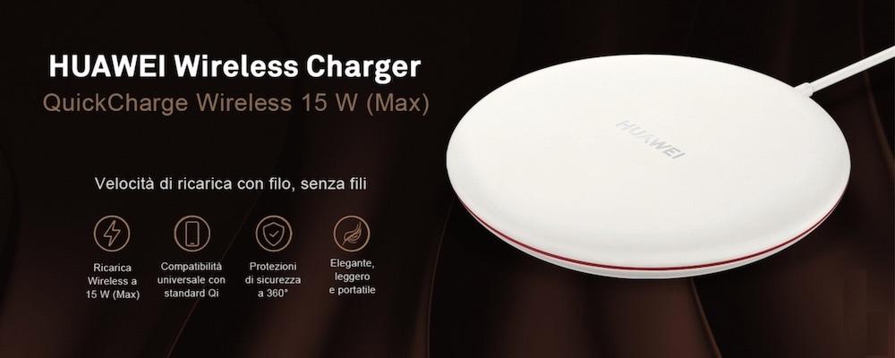 wireless charger huawei prestazioni velocità