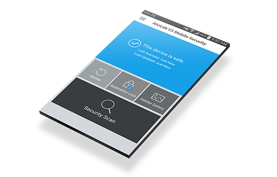 V3 mobile security ahnlab antivirus android
