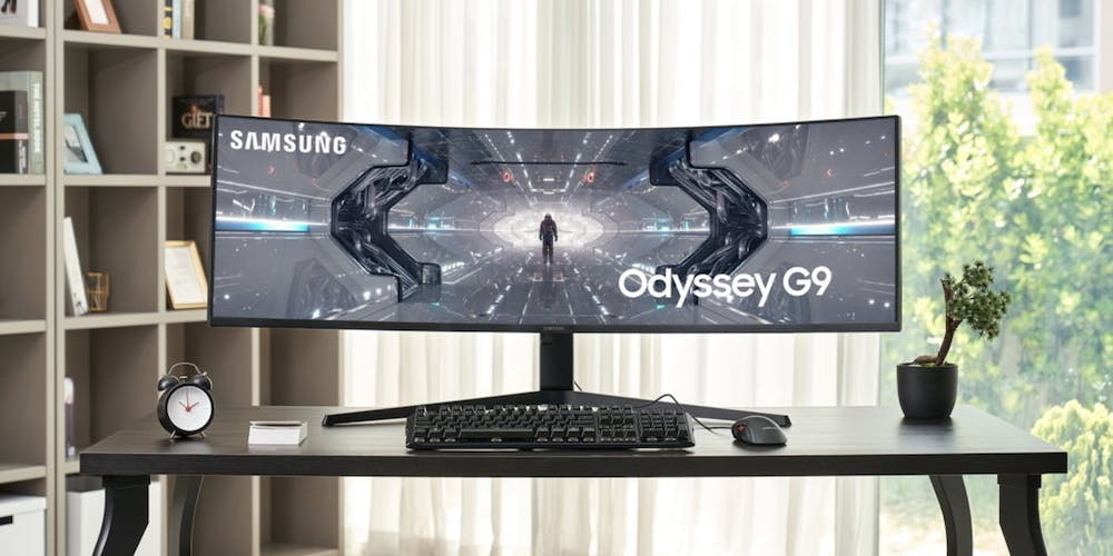 samsung odissey monitor gaming curvo