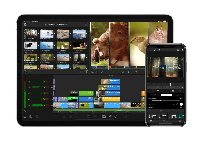 app montaggio video ios lumafusion